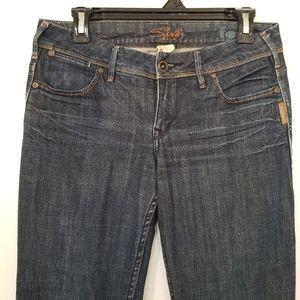 Silver Toni dark wash jeans, strait leg size 27